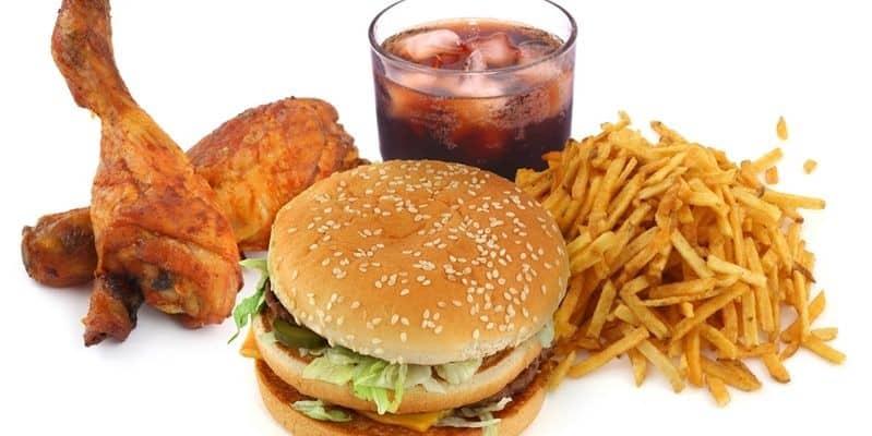 Ограничение в питании: вредная еда